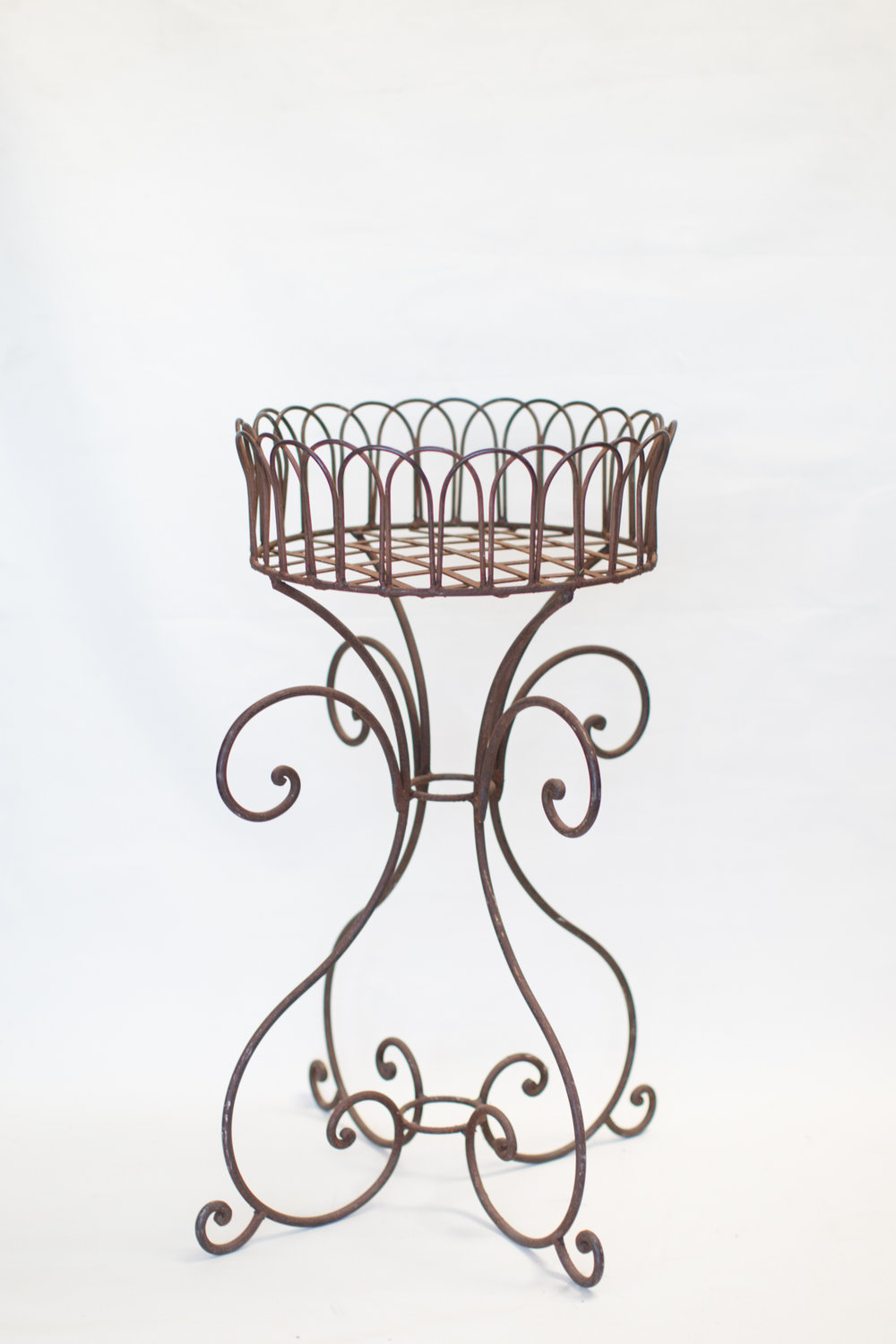 Iron Plant Basket