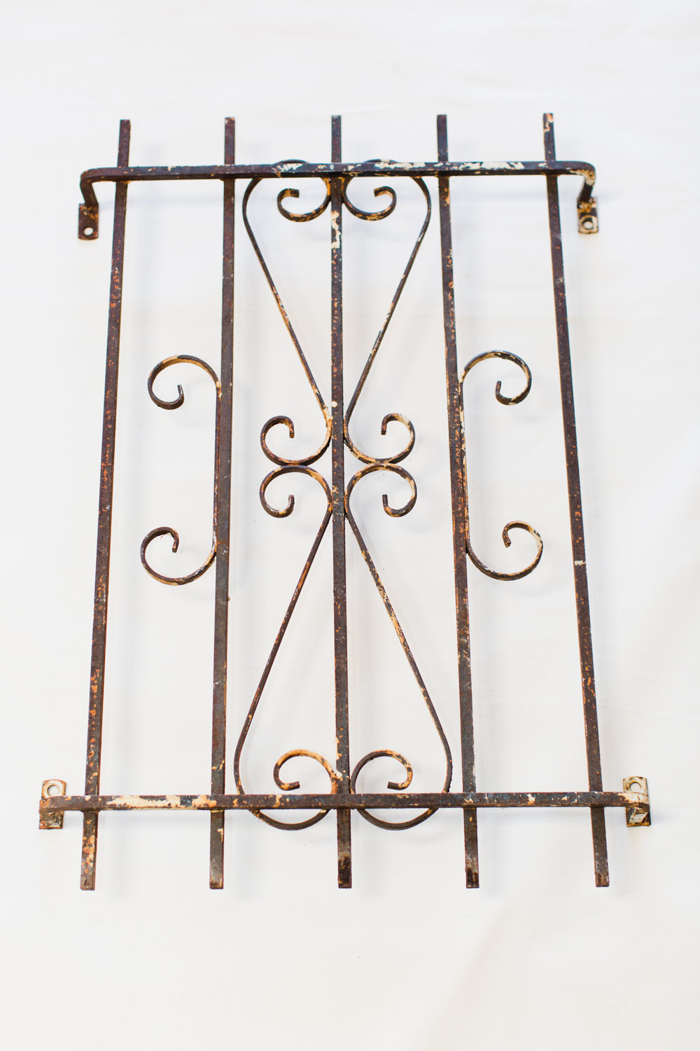 Iron Window Grate