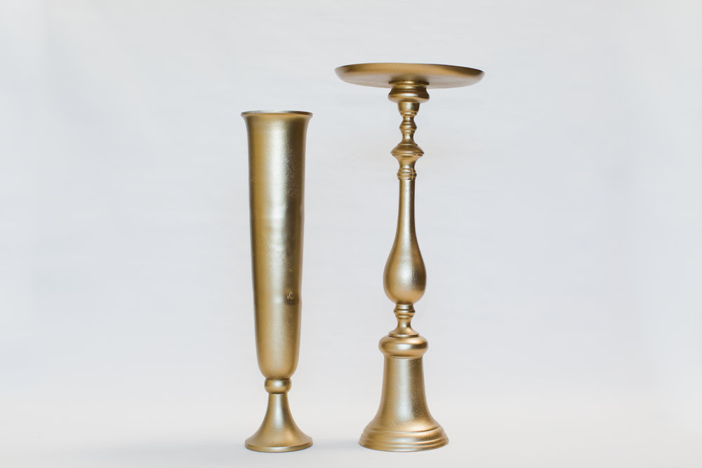 Gold Metal Stands