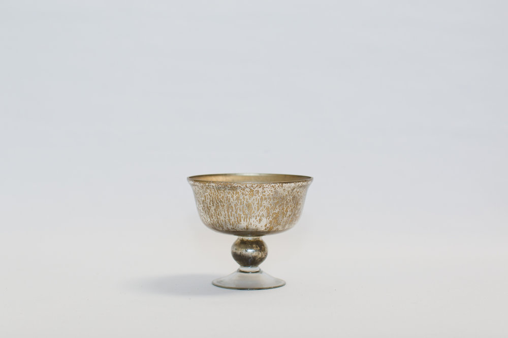 Gold Compote Bowl