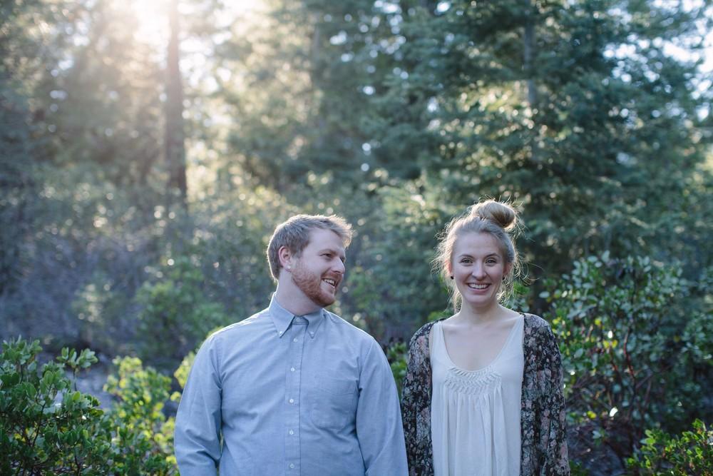 Andy & Ally • Mossbrae Falls, California