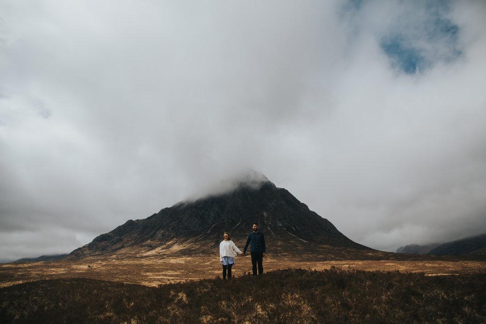 Glencoe Elopement mountain