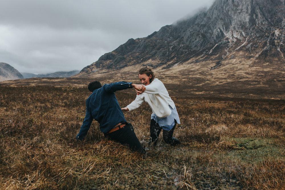 Glencoe engagement bog