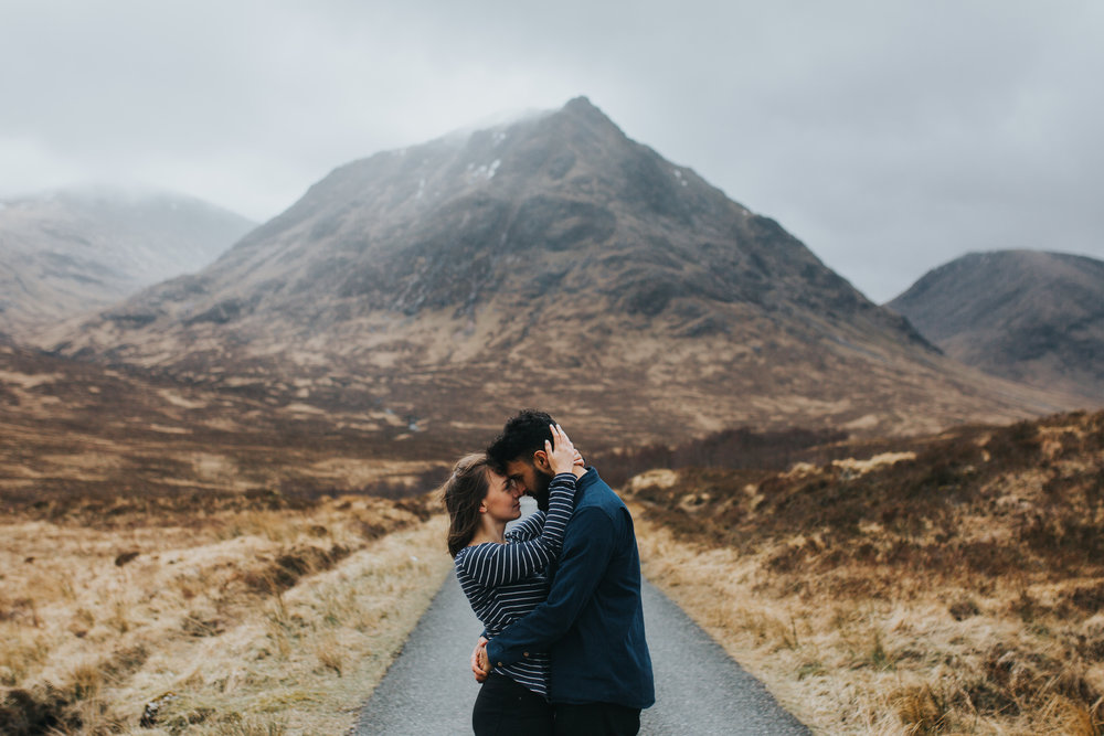 Glencoe engagement hot