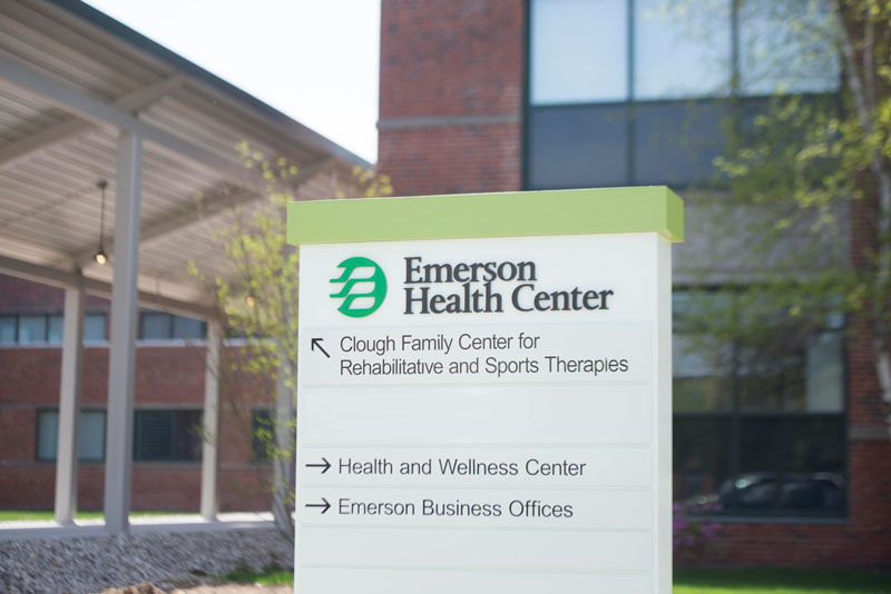 The new Clough Family Center for Rehabilitative and Sports Therapies will be located at 310 Baker Avenue in Concord, Massachusetts.