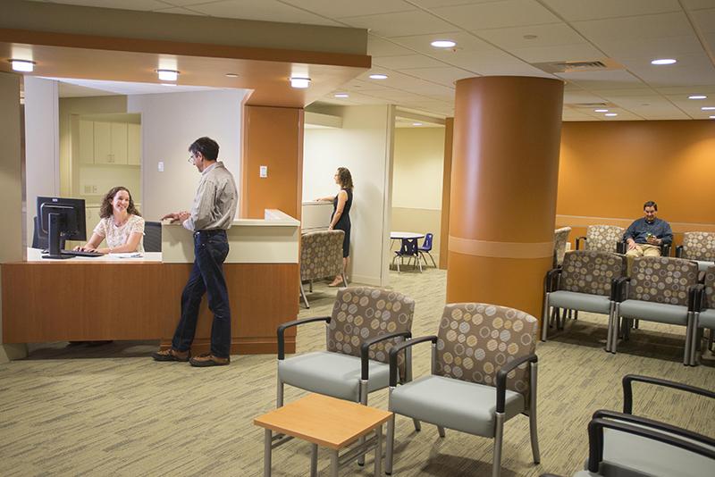 Rehab Center Lobby