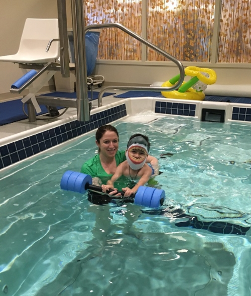 There\'s a Shark in Our Aqua Therapy Pool! — Emerson Hospital Center ...