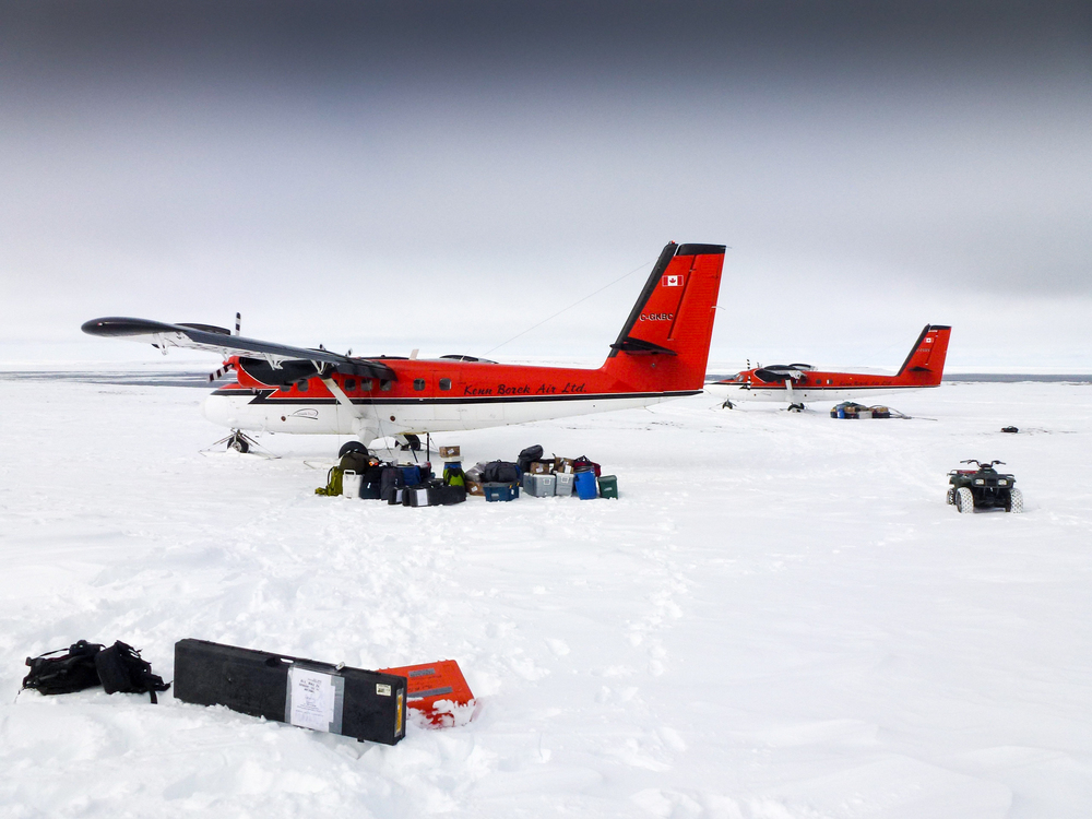 DeHavilland Twin Otters -  workhorses of the Arctic, widely considered to be the ultimate utility aircraft in remote and challenging environments