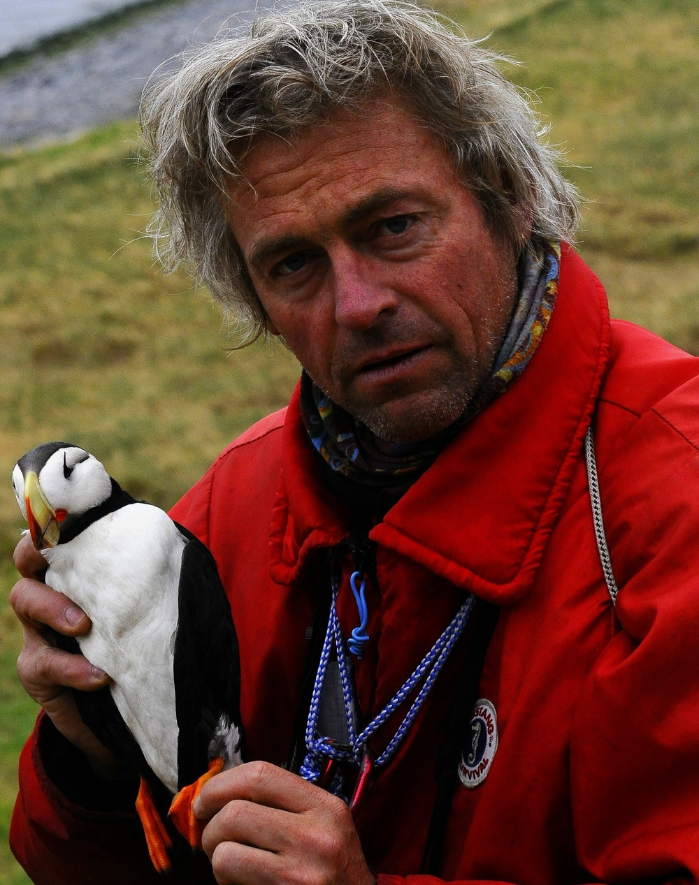 Fabrice Genevois  studied ornithology at L'Ecole Pratique des Hautes Etudes (Paris) and did most of his research on the behavioural ecology of subantarcic petrels in the context of sexual selection.  He is also involved in field studies with French Museum of Natural History and also works as a lecturer on expedition ships in the polar regions.