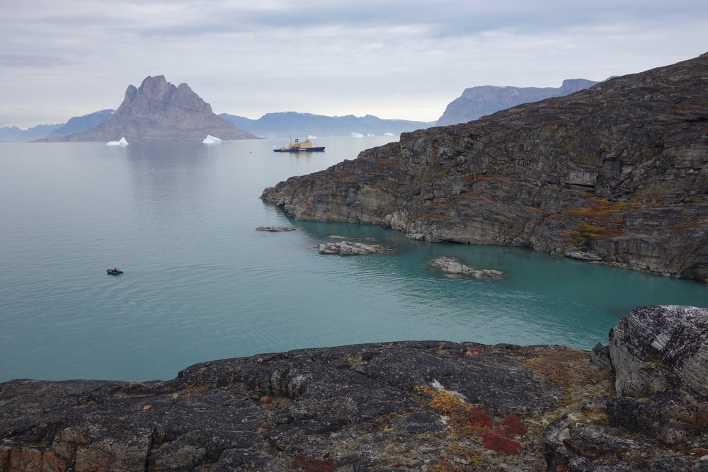 The Kapitan Khlebnikov, Northwest Greenland