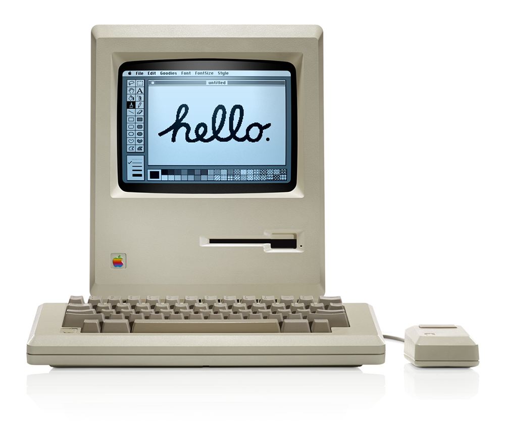 Pictured: the new Mac.