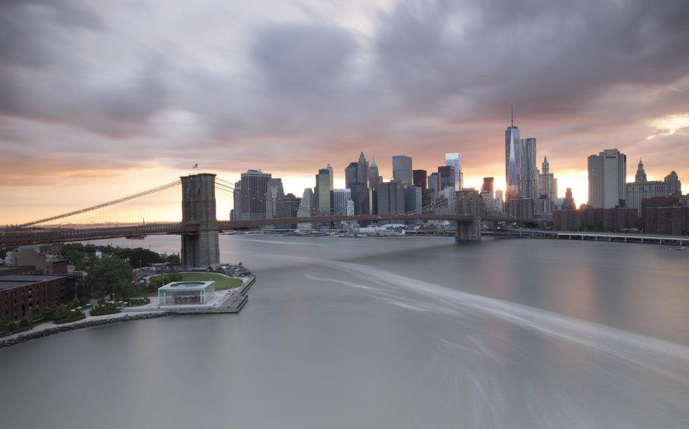 Brooklyn Bridge - New Y  ork (Onbewerkte  versie)