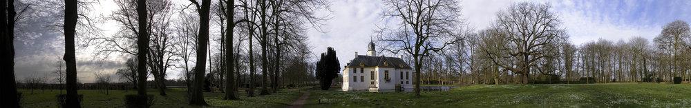 Fraeylemaborg Slochteren (één van mijn eerste panoramafoto's)