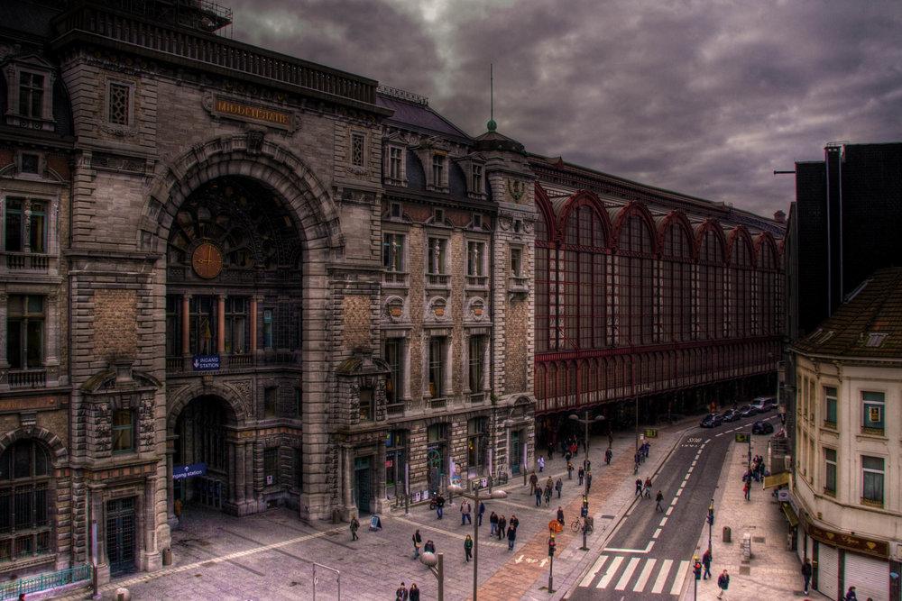 Antwerpen (één van mijn eerste HDR foto's)