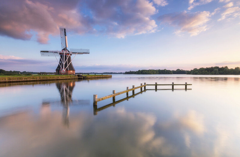 [❍] Helper molen (mill) Groningen - Netherlands
