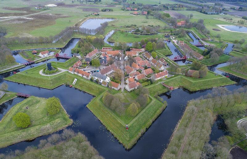 [❍] Bourtange - Groningen (Drone)