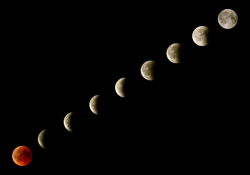 [❍] Total Lunar Eclips… (Blood Moon)