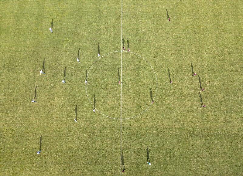 Soccer match (Netherlands)