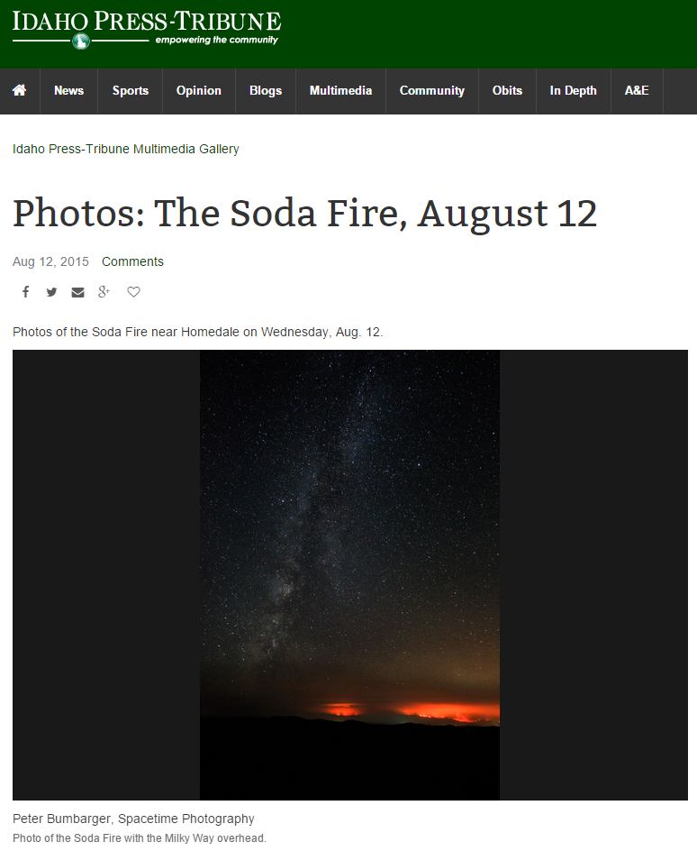 Idaho Press-Tribune (August 14, 2015)
