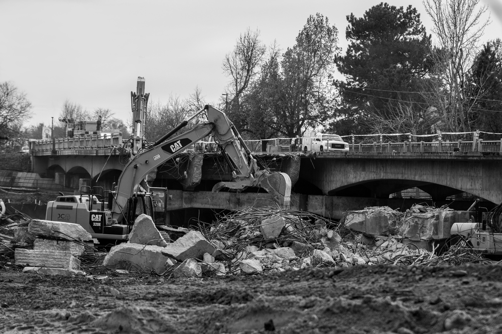Broadway Boise River Demolition