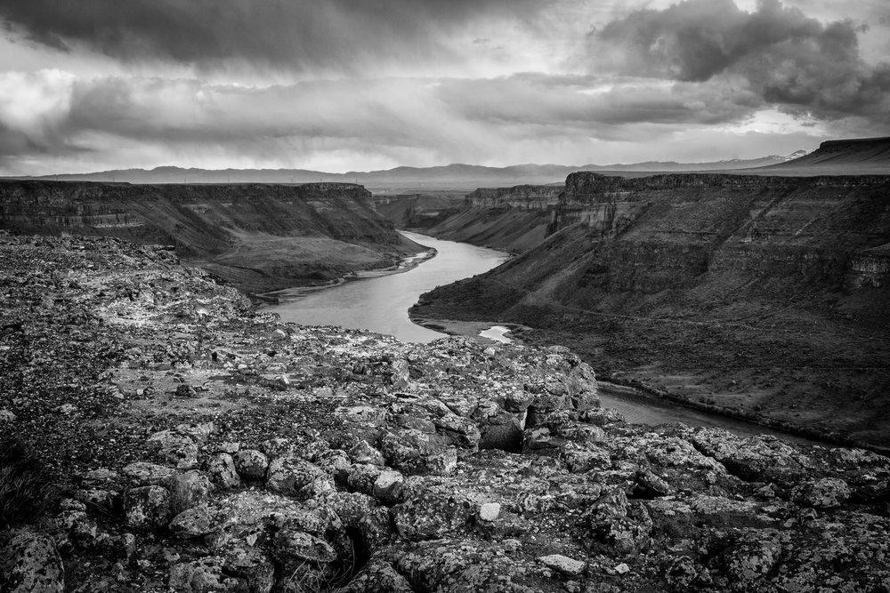 Snake River Near Swan Falls