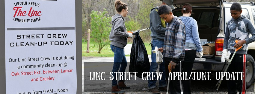 On Saturday June 11th, The Linc Street crew took the streets on Youngstown's East Side to lend a hand in beautifying our city. Together, our team of nine individuals were able to collect 30 bags of trash, 30 tires, and other miscellaneous items that had been littered throughout the streets. To date, The Linc Street Crew has removed over 60 bags of litter, 40+ tires, and other miscellaneous debris found throughout the streets of the East Side of Youngstown.