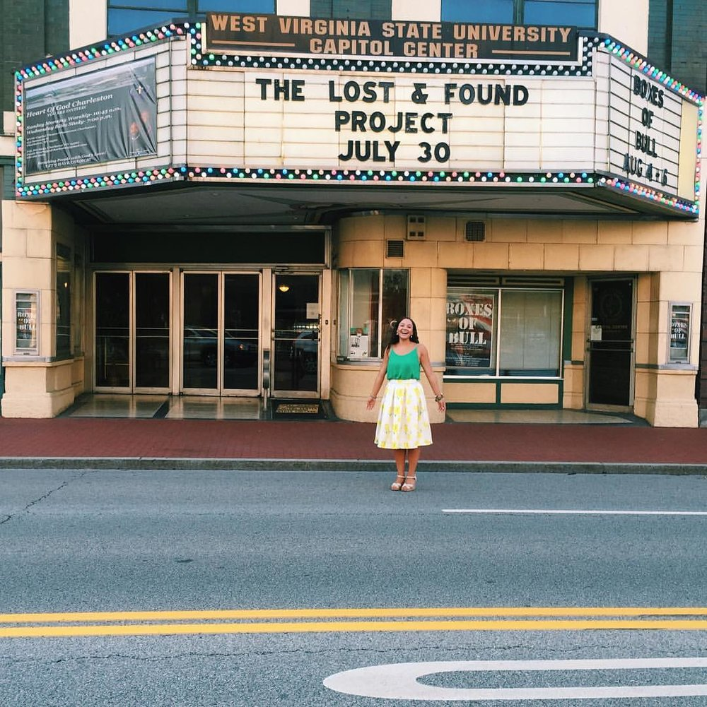 The Lost + Found Project Premiere. Charleston, West Virginia | July 30, 2016