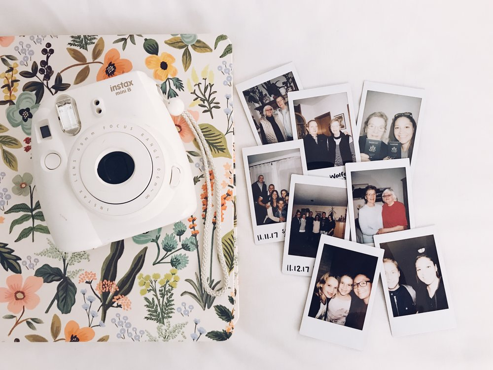 fuji instax mini with photos in berlin, germany