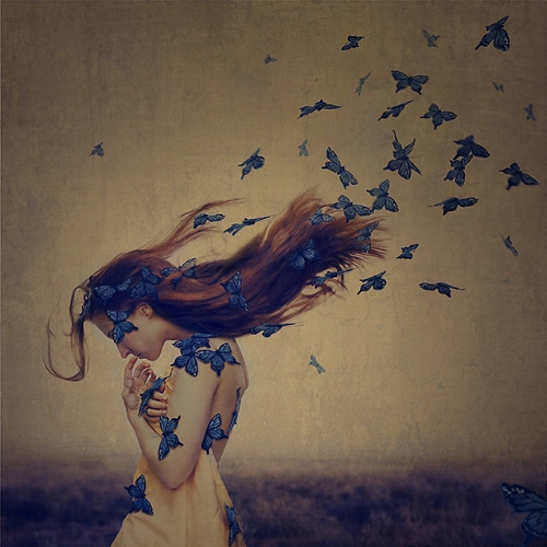 Brooke Shaden self portrait