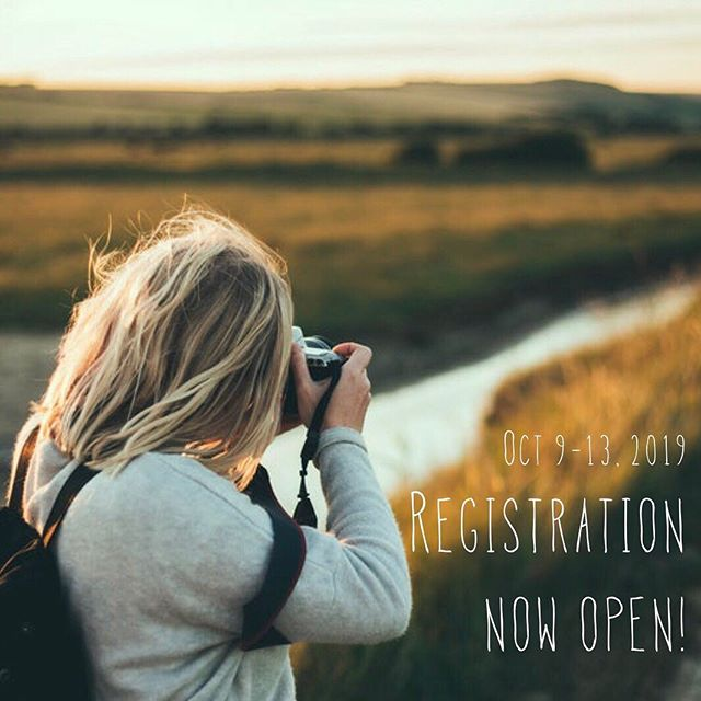 TODAY'S THE DAY! 🎉 Camp registration is now open, and spots have already started to fill up! Our award-winning photography teachers have put their time and passion into building classes that will be sure to inspire you. Don't miss your chance to join our best Firefly Institute yet — sign up today!