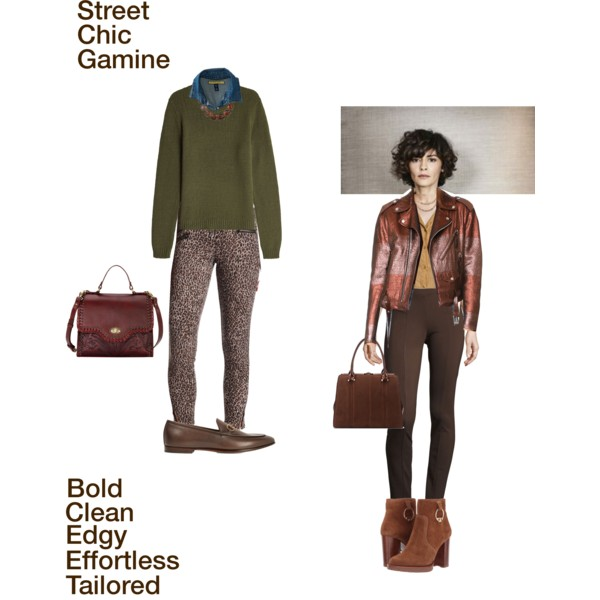 A Signature Style concept in True Autumn colors for the Pixie Image Archetype.