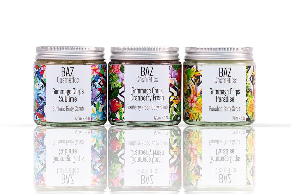 Shooting Studio pour  BAZ Cosmetics