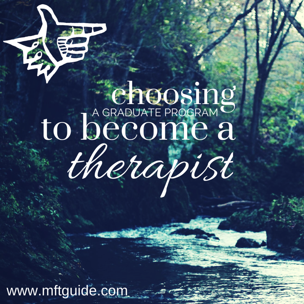 becomingatherapisthowtochoosegradschool