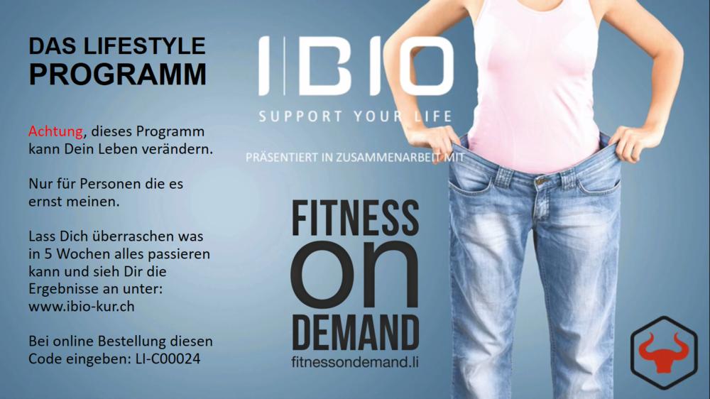 Ernährungsprogramm Mit der richtigen Ernährung geht alles doppelt oder dreichfach so schnell...! Lies über unser einmaliges Konzept und schau das Video über das IBIO Programm. Hier klicken.