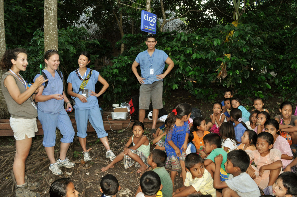 Health Education in Guatemala Village