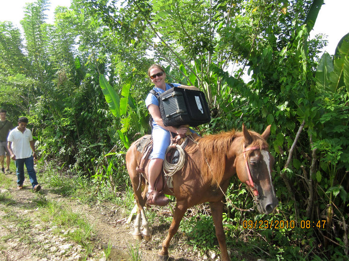 Traveling by Horse to a Guatemalan Village