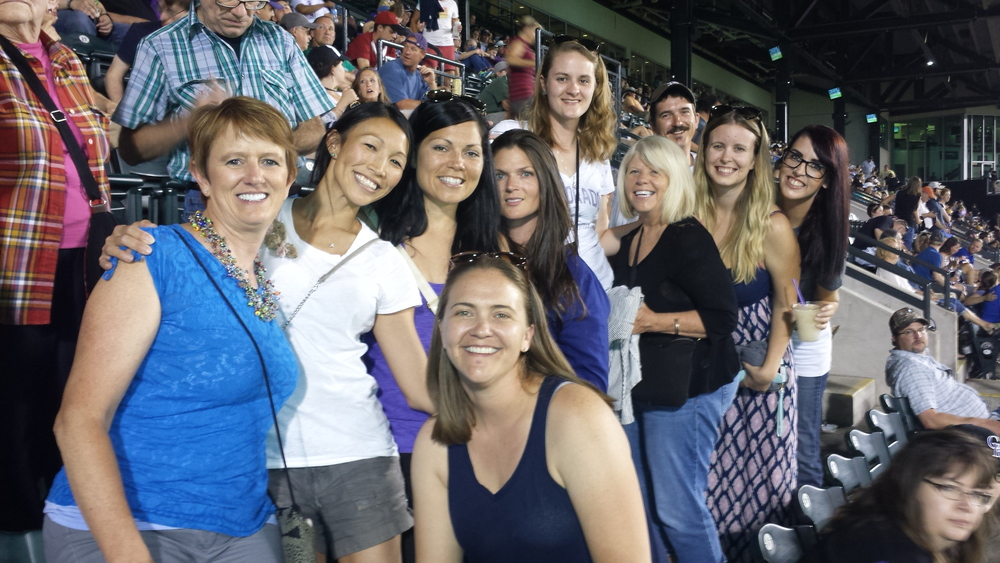 Staff Night at the Rockies Game