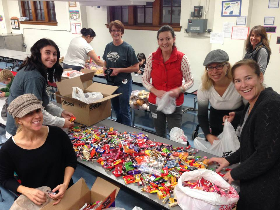 Asbury Halloween Candy Buy Back