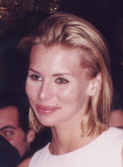 Former supermodel Niki Taylor in 1996. Fisher Island, Florida.