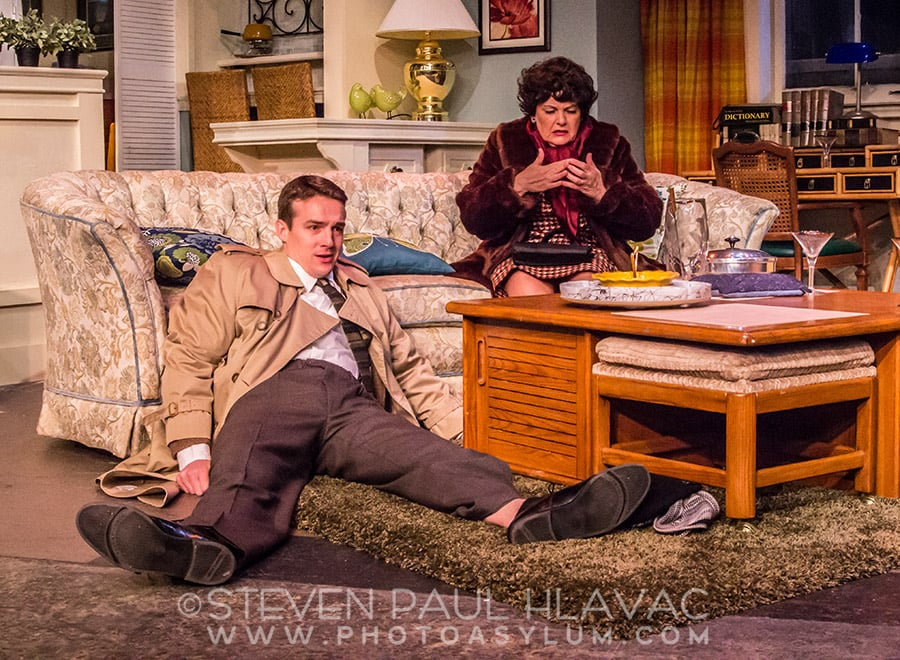 One of my publicity stills from The IceHouse Theatre 2015 production of Barefoot In The Park. Pictured above: Ryan Smith as Paul, and Darlin Barry as Ethel. Directed by David Clevinger. ©2015 Steven Paul Hlavac.
