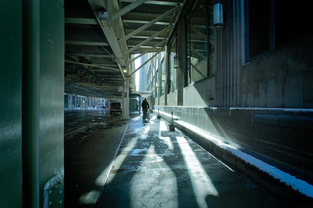 Winter Street Scene