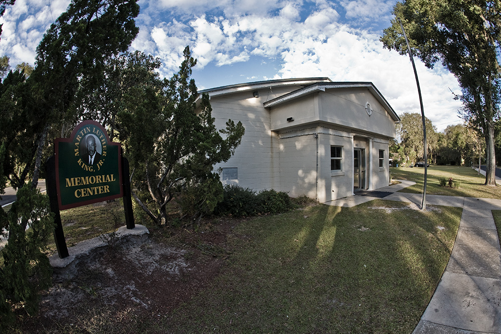 Mount Dora's Martin Luther King, Jr. Memorial Center served as the headquarters and practice facilities of the Lake Mount Steppers. Photo ©Steven Paul Hlavac.