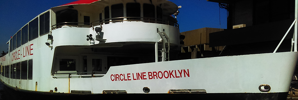 When needing photos of New York City, and time and money are limited, the key is getting the most bang for the buck. And so, one of my two main vantage points for shooting was the Circle Line Brooklyn, a large tourist cruise ship that sashayed leisurely around Manhattan on both the Hudson and East Rivers. My other spot? Why, the top of the Empire State Building, of course! Photo ©Steven Paul Hlavac.