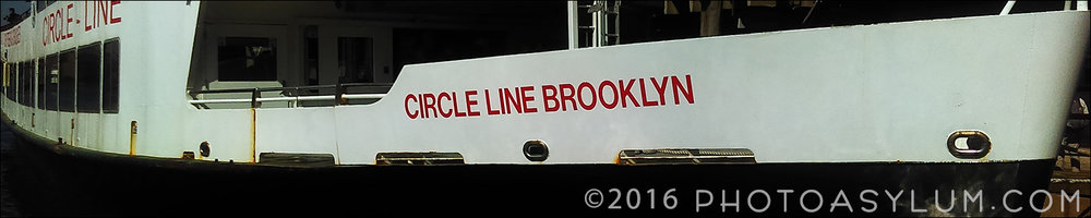 When needing photos of New York City, and time and money are limited, the key is getting the most bang for the buck. And so, one of my two main vantage points for shooting was the Circle Line Brooklyn, a large tourist cruise ship that sashayed leisurely around Manhattan on both the Hudson and East Rivers.