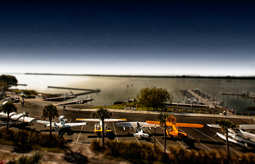 Screenshot from Tavares Seaplane Base and Marina time lapse.