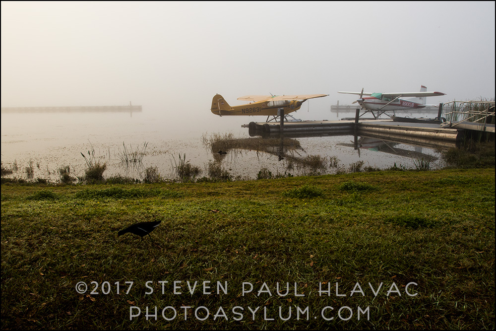 It's a great feeling when you arrive on a scene, love the visuals, and know you have time to carefully set up and shoot. The perfect blend of planning and spontaneity.  The Tavares Seaplane Base and Marina. Photo ©Steven Paul Hlavac.