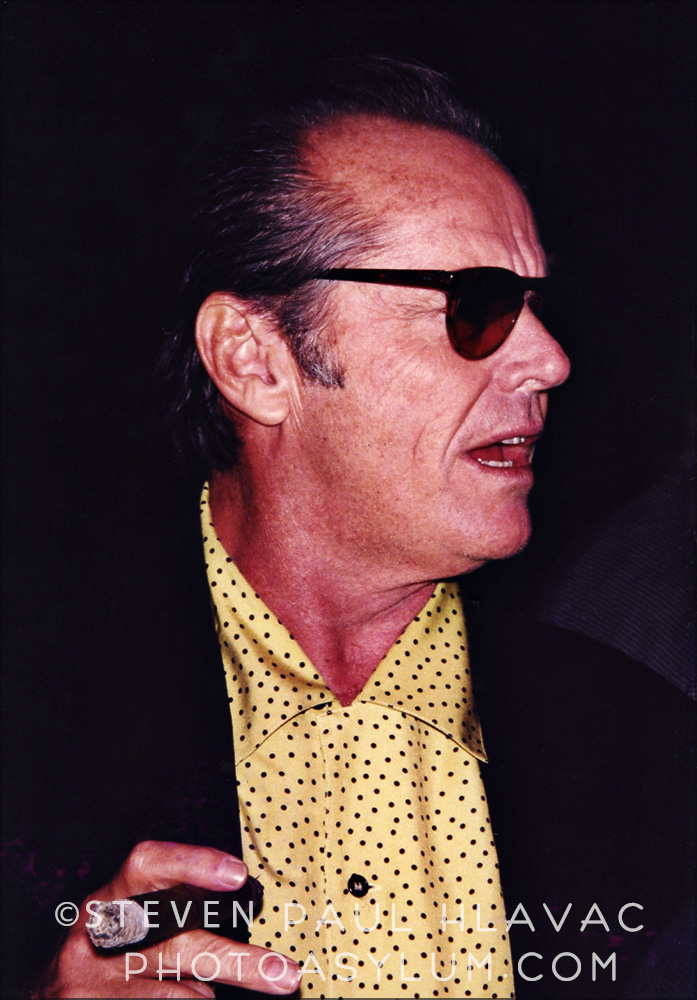 Ok, it wasn't Jack Nicholson's birthday this week, but he was at the Ocean Drive party in 1996 as well, and I got this close, so I'm gonna name drop. Photo ©Steven Paul Hlavac. All Rights Reserved.