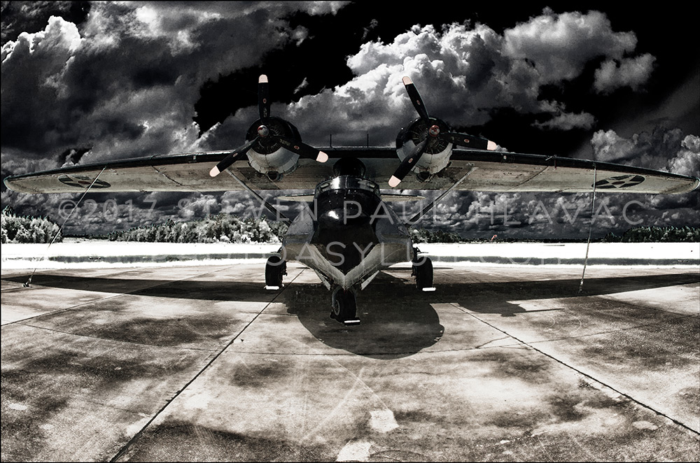 Florida Seaplane Catalina No. 93 Infrared Black