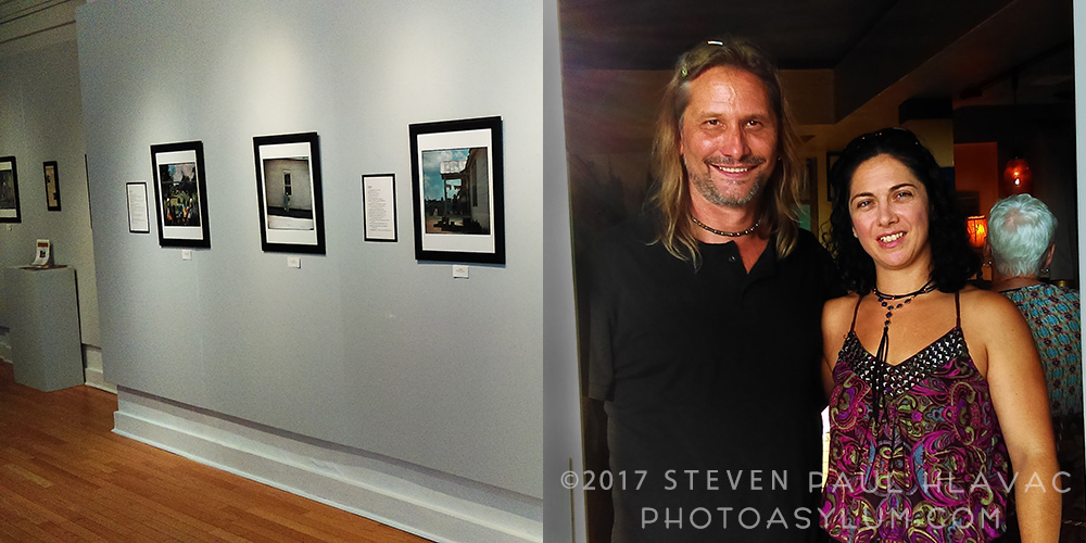 "Left: photographer Gordon Parks' powerful show ""Segregation Story"" at the Mount Dora Center for the Arts. Right: Norm Rinne (here with girlfriend Suzanne Sinclair-Thomson) closes local business Norm's Palette after a four-and-a-half year run in downtown Mount Dora."