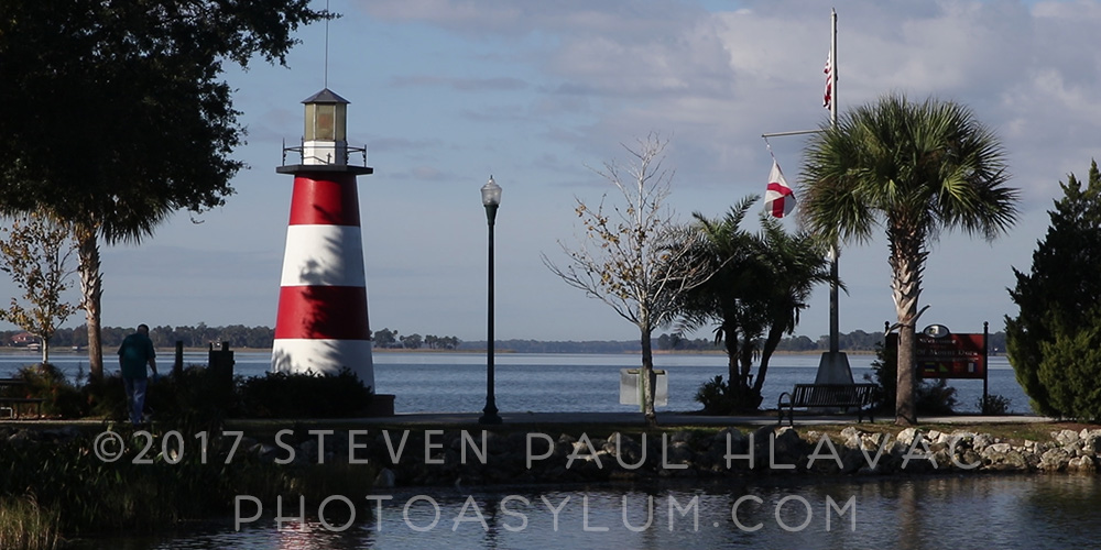 Lighthouse Point near Gilbert Park on the shores of Lake Dora, Mount Dora, Florida. One of the many scenic spots in Lake County where I'll be shooting. ©Steven Paul Hlavac. All rights reserved.